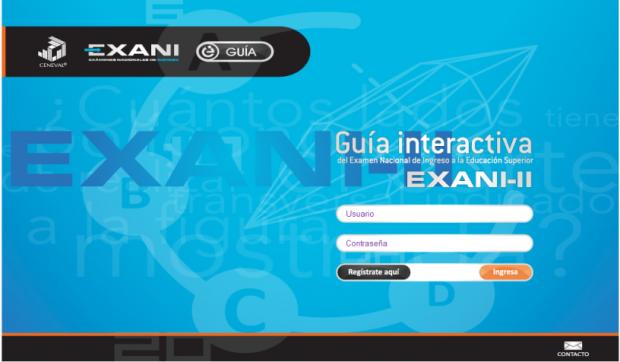 Guia interactiva Exani II – 2018