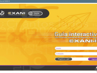 Guia interactiva Exani III – 2018