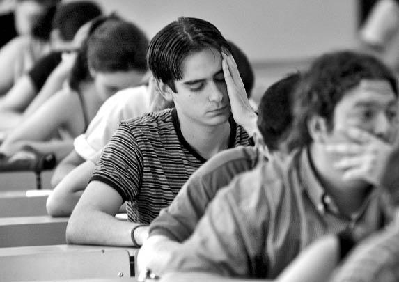Estresarte es lo peor que podrias hacer en un examen de admision