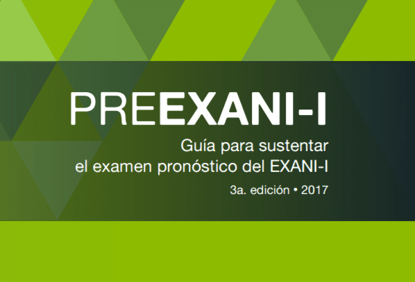 Descarga la guia del Pre-Exani I