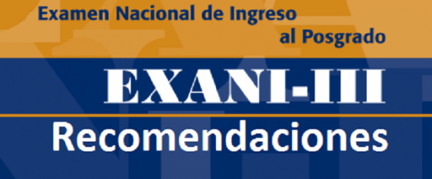 Recomendaciones CENEVAL para presentar tu examen EXANI-III