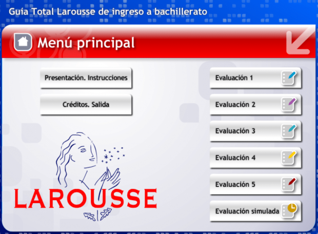 Guia Interactiva Larousse para ingresar a la preparatoria