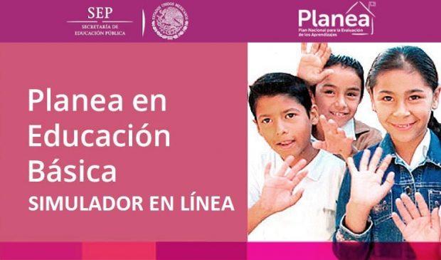 Simulador en linea Planea Educacion Basica Primaria 2017