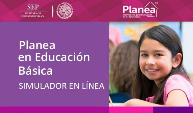 Simulador en linea Planea Educacion Basica Secundaria 2017