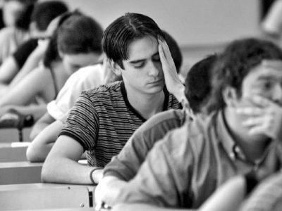 Pasar un examen de admisión cada vez es mas difícil