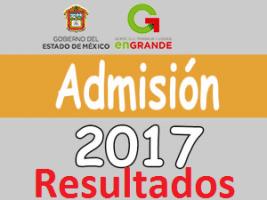 Resultados Examen de admision Media Superior EDOMEX