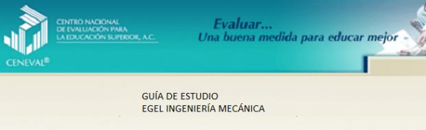 Descarga aquí la guía del EGEL IMECA (Ing. Mecanica)
