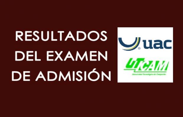 Resultados Examen de Admisión Media Superior y Superior Campeche 2017