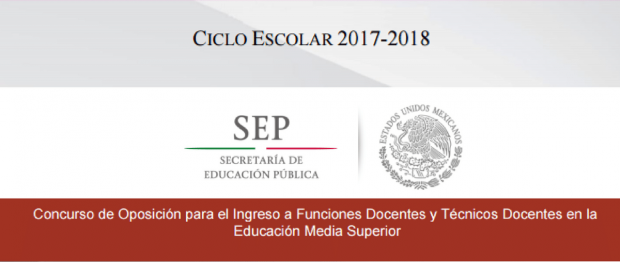 Que es el Concurso de Oposición Educación Media Superior