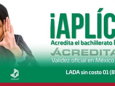 ACREDITA-BACH-EUA Acredita tu bachillerato en E.U.A con un examen