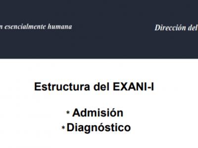 Temario del examen EXANI I CENEVAL 2018