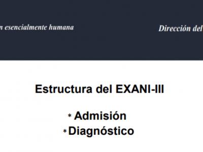 Temario del examen EXANI III CENEVAL 2018
