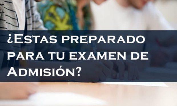 ¿Pasarías el examen de admisión a la Universidad si fuera hoy?